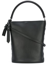 Max Mara Bucket Tote Women Calf Leather One Size Black