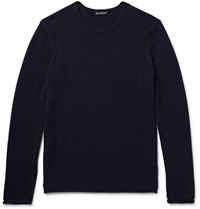 James Perse Cashmere Sweater Midnight Blue