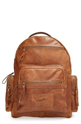 Rawlings Sports Accessories Men's Rawlings 'Rugged' Leather Backpack