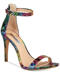 Inc International Concepts Women's Roriee Two Piece Sandals Only At Macy's Women's Shoes Snake Multi