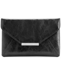 Style And Co. Lily Envelope Clutch Black