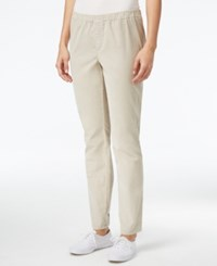 Karen Scott Petite Corduroy Pants Only At Macy's Stonewall