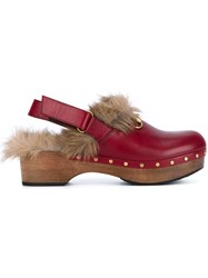 Gucci Amstel Clogs Red