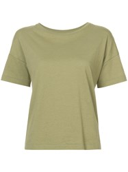 Organic By John Patrick Classic Tee Cotton Green