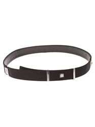 Gianni Versace Vintage 'Medusa' Head Belt Black