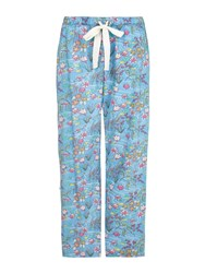 Yumi Floral Pj Bottoms Blue