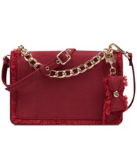 Nine West Colma Clutch And Convertible Crossbody Ruby Red