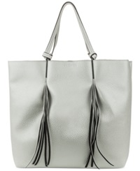 Kenneth Cole Reaction Horizontal Fringe Tote Pale Wheat