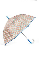 Shedrain 'The Bubble' Auto Open Stick Umbrella Blue Wish Blue