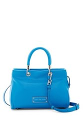 Marc By Marc Jacobs Leather Satchel Blue