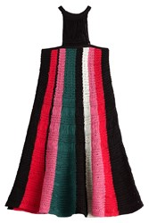 M Missoni Crochet Cotton Dress Multicolor