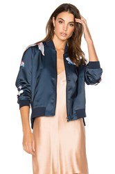 Joe's Jeans Elsie Bomber Jacket Blue