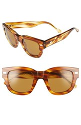 Acne Studios Women's 'Frame' 48Mm Sunglasses Light Turtle