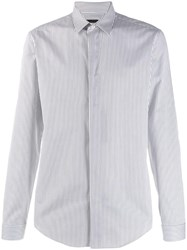 Emporio Armani Classic Striped Shirt White
