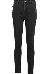 Marc By Marc Jacobs High Rise Skinny Jeans Black