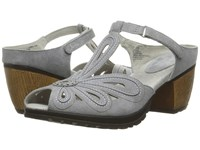 Jambu Sahara Grey Women's Wedge Shoes Gray