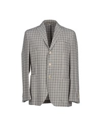 Luigi Bianchi Mantova Suits And Jackets Blazers Men Light Grey