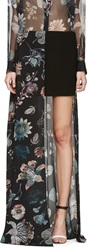 Versus Multicolor Floral Anthony Vaccarello Edition Skirt