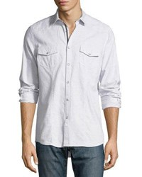 Civil Society Western Style Oxford Shirt Gray