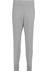 Vince Wool And Cashmere Blend Track Pants Gray