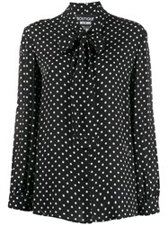 Boutique Moschino Polka Dot Blouse 60