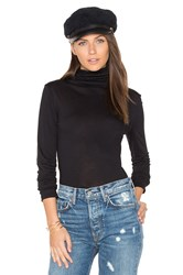Twenty Perfect Turtleneck Black