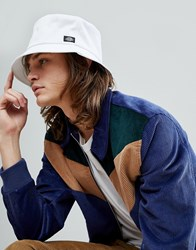 Dickies Addison Bucket Hat In White