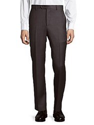 Saks Fifth Avenue Italian Wool Pants Grey