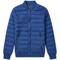 Polo Ralph Lauren Lightweight Down Bomber Jacket Blue