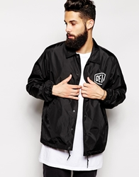 Deus Ex Machina Milano Coach Jacket Black