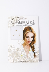 Forever 21 Charmsies Gold Stars Hair Charms