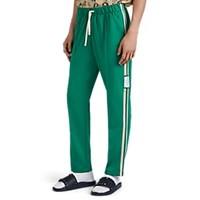 Ovadia And Sons Striped Tech Jersey Track Pants Green