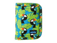 Kavu Zippy Wallet Blue Toucan Bags Multi