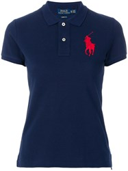 Polo Ralph Lauren Big Pony Shirt Blue