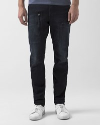 G Star Powel Slim Tapered Faded Black Jeans