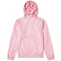 Calvin Klein Nylon Zip Up Jacket Pink