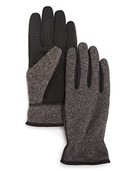 U R Ur Wess Knit Gloves Charcoal
