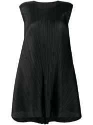 Issey Miyake Pleats Please By Luster Tunic Dress Black