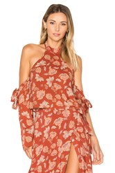 Ale By Alessandra X Revolve Branca Top Burnt Orange