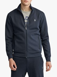 Ralph Lauren Polo Double Knit Track Jacket Aviator Navy