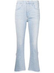 Citizens Of Humanity Cryst Cropped Jeans Blue