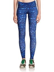 Alo Yoga Printed Performance Leggings Kaleidoscope Print