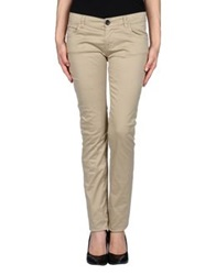 Magazzini Del Sale Casual Pants Khaki