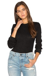 Ragdoll Rib Long Sleeve Tee Black