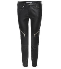 Givenchy Leather Trousers Black