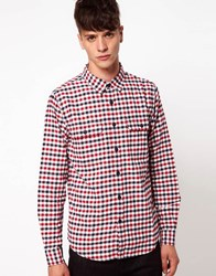 Izzue Gingham Shirt Red