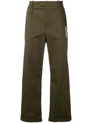 Craig Green Loose Fit Straight Trousers Green