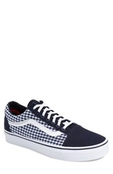Men's Vans 'Old Skool' Sneaker Dress Blues Twill True White