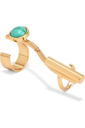 Paula Mendoza Imai Gold Plated Ring