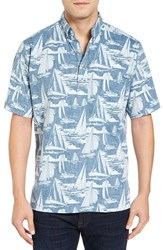Reyn Spooner Men's Reyn's Cup Classic Fit Print Camp Shirt